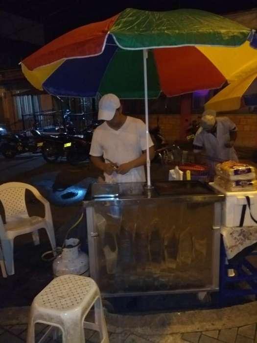Vendo Carito de Comida Rapida Solo Whasa