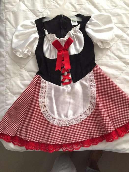 Disfraz de Caperucita Roja niña