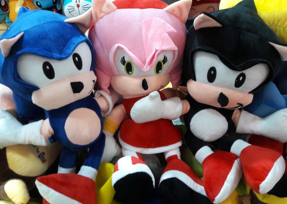 Sonic Peluches Antialergicos