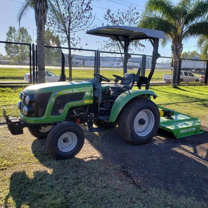 Tractor Parquero Zoomlion Desmalezadora