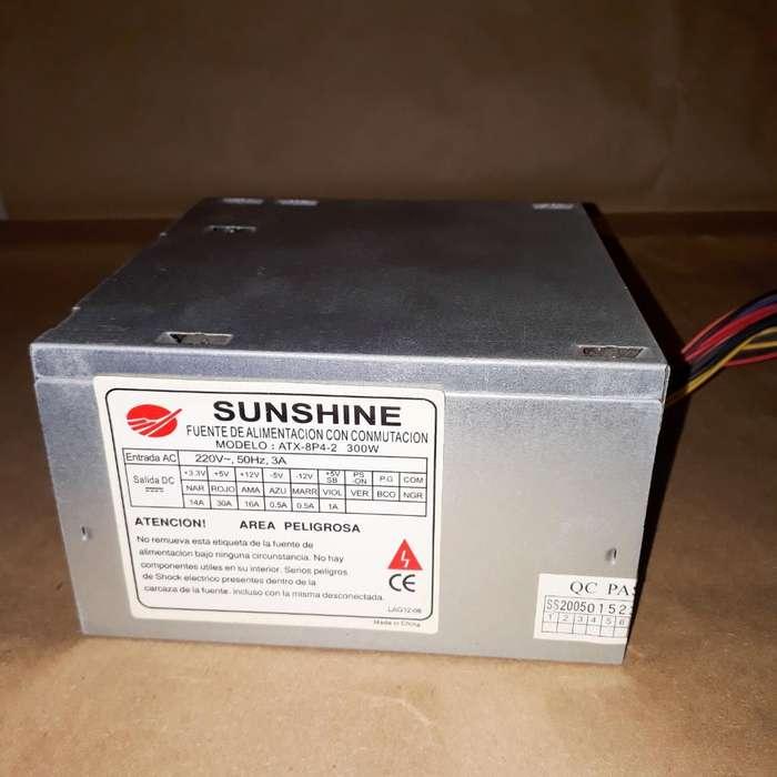 Fuente de <strong>pc</strong> Sunshine para Probar