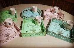 Vitrofusión  Pintura en Porcelana Y Mad