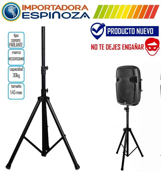 Tripode Soporte Metalico Profesional <strong>parlante</strong> 1.45mts Besser