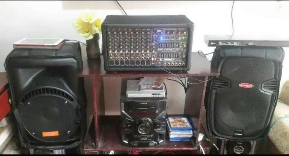 Amplificacion Peavey 684f