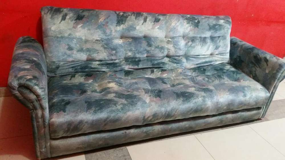Sofa Cama 2 Plazas con Cajonera