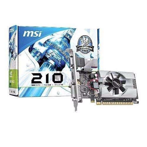 Tarjeta De Video Msi Nvidia Geforce 210 1GB DDR3 ! Promocion !