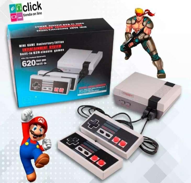 Consola Tipo Nintendo Clásico 620 Juegos