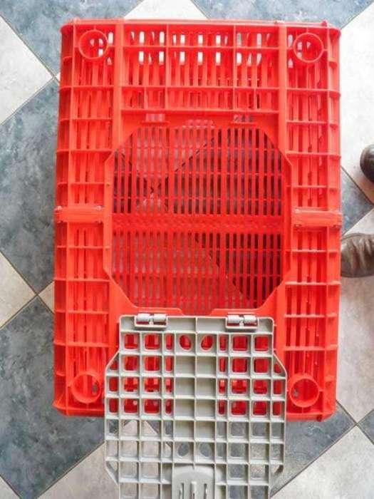 Vendo16 Jaulas para Transporte de Pollos