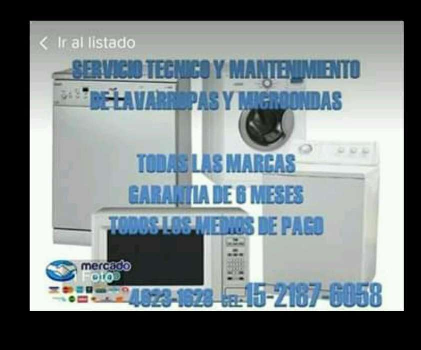 Servicio Tecnico Lava Ropas Microondas