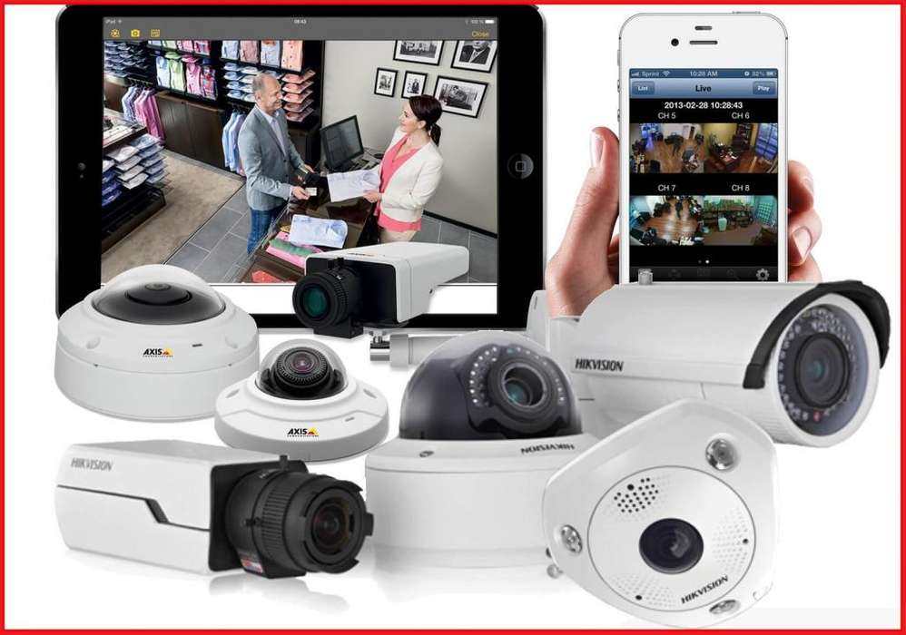 CAMARAS CCTV Y ALARMAS