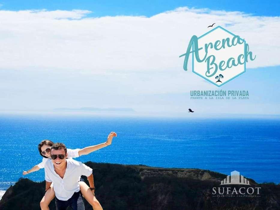 ARENA BEACH!! Lotes de 300M2Cuotas Fijas – Crédito Directo Para Mas Información al 0996468356 Manta ManabíSD2