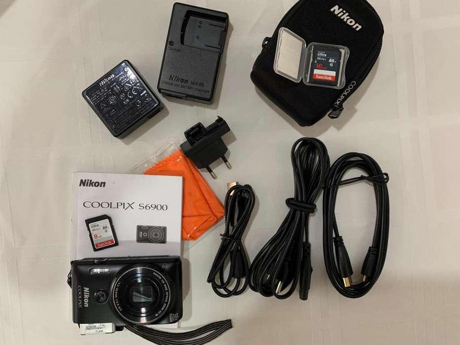 Nikon Coolpix S6900 - el mejor para selfies