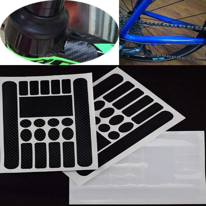 Adhesivos protector para Marcos de bicicletas Ciclismo etiqueta transparente