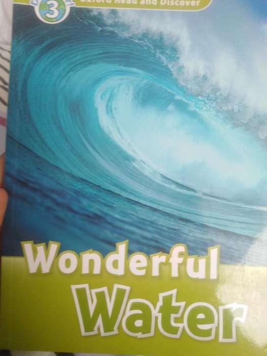 Vendo libro wonderful water