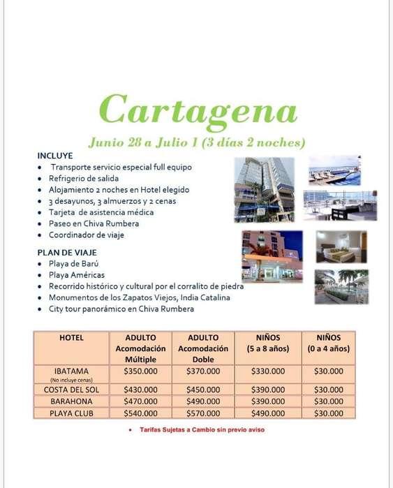 Juank Tours Salida a Cartagena
