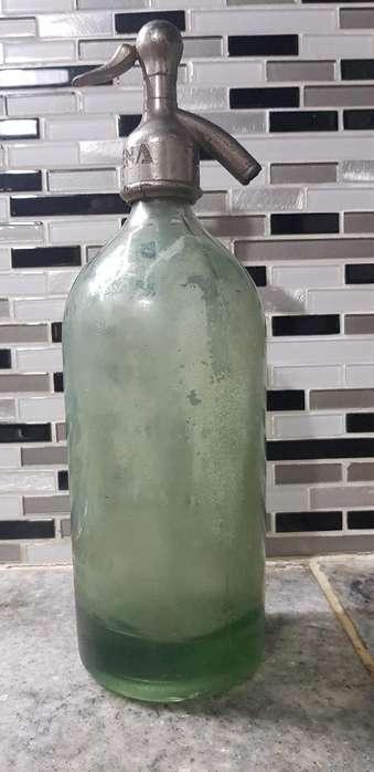 Sifon de Vidrio Antiguo