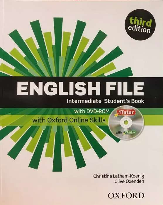 English File Intermediate Students Book Without Key Third Edition