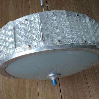 vendo hermosa lampara de colgar de cristral tallado