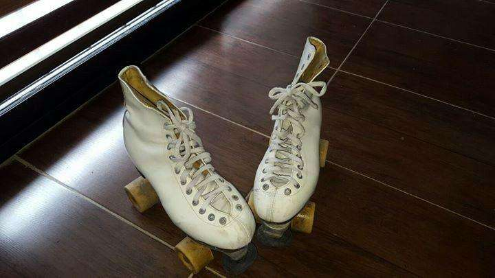 Patines con bota talle 40