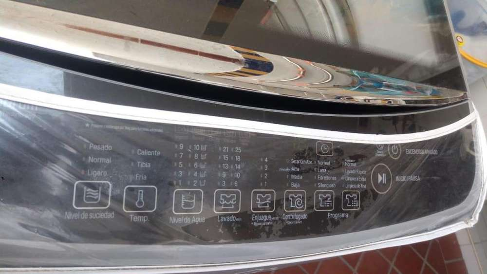 Lavadora LG Inverter WT18DSB