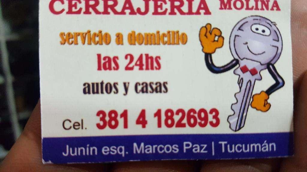 Cerrajeria Molina 24hs