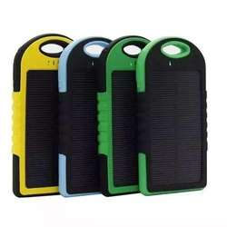 Cargador Power Bank Panel Solar 12000mah Bateria Externa