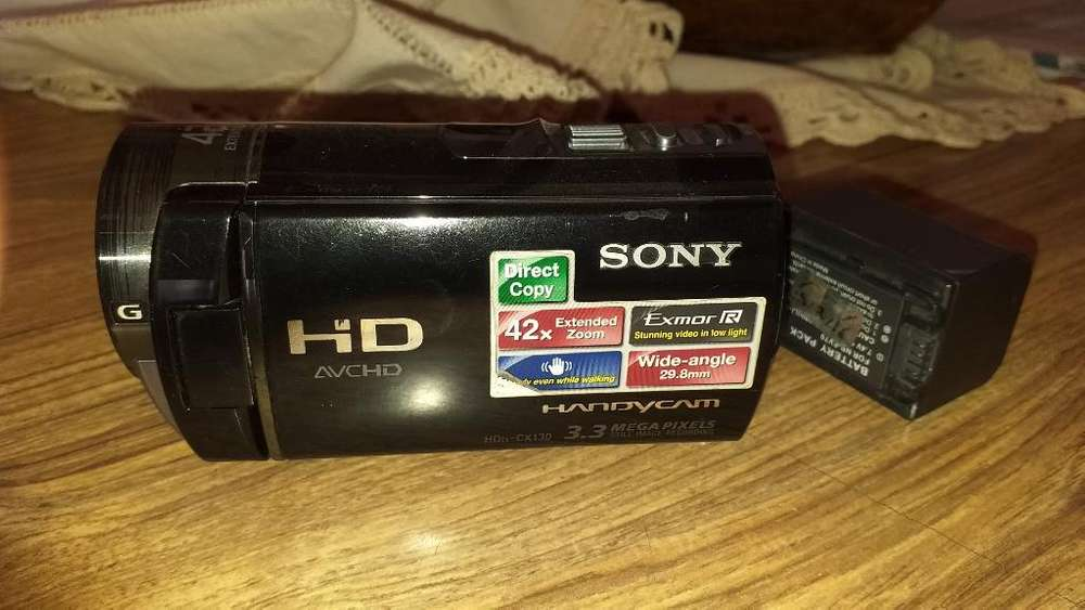 Vendo Camara Sony Hd
