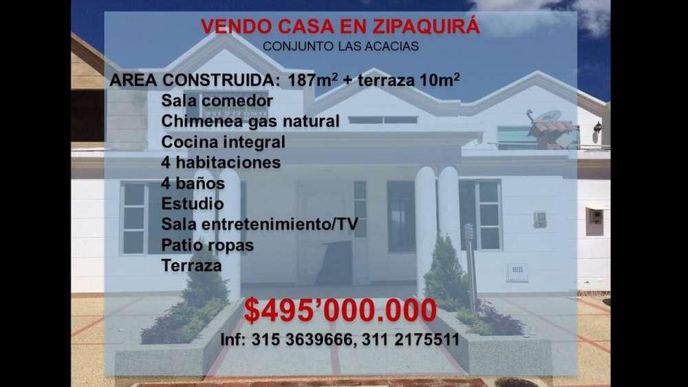CASA EN ZIPAQUIRA . CONDOMINIO LAS ACACIAS . Calle 6 610, Via A Nemocón