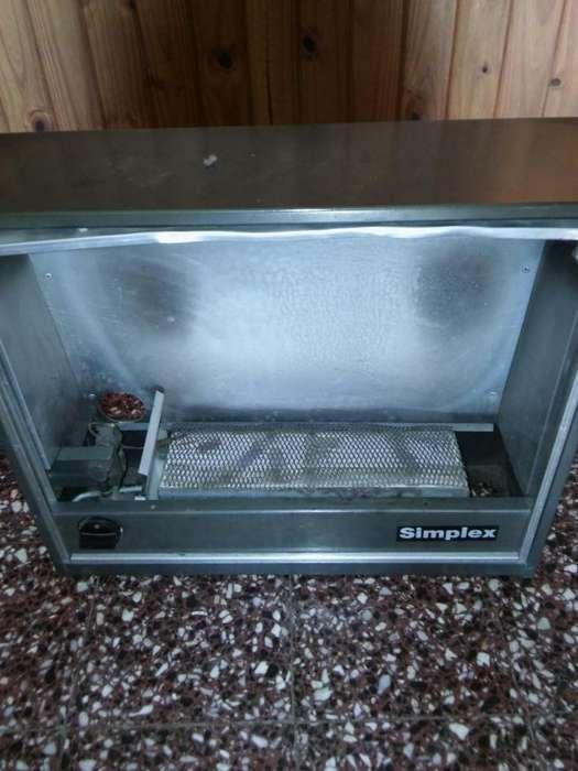 Calefactor usado marca Simplex 2900 calorias mod. CN 150.