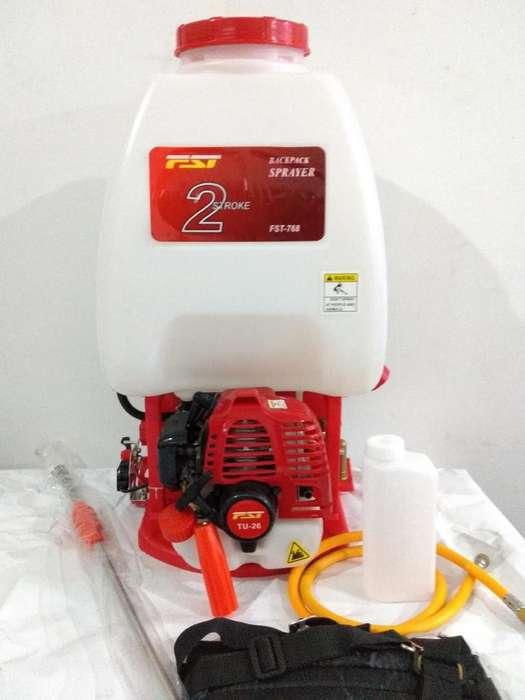Fumigadora Espalda con Motor 25 Litros