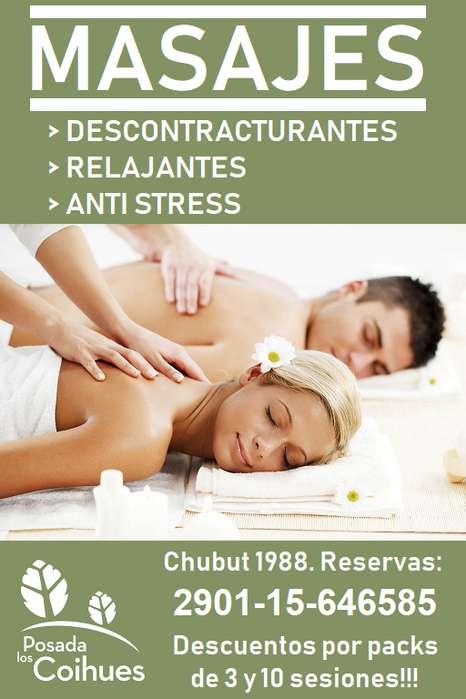 Masajista - Masajes Terapeuticos - Masoterapia Espalda Relax