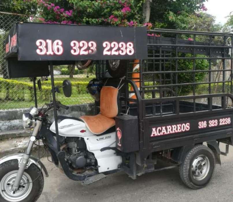 Servicio de Motocarro en Ibagué