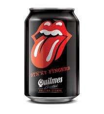 Lata Rolling Stones Cerveza Quilmes Edición Limitada