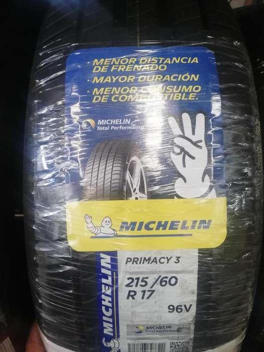 Llanta Michelin 215 60 R17