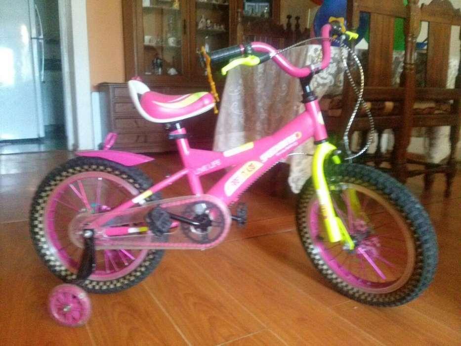 <strong>bicicleta</strong> de Nina de 4 a 8
