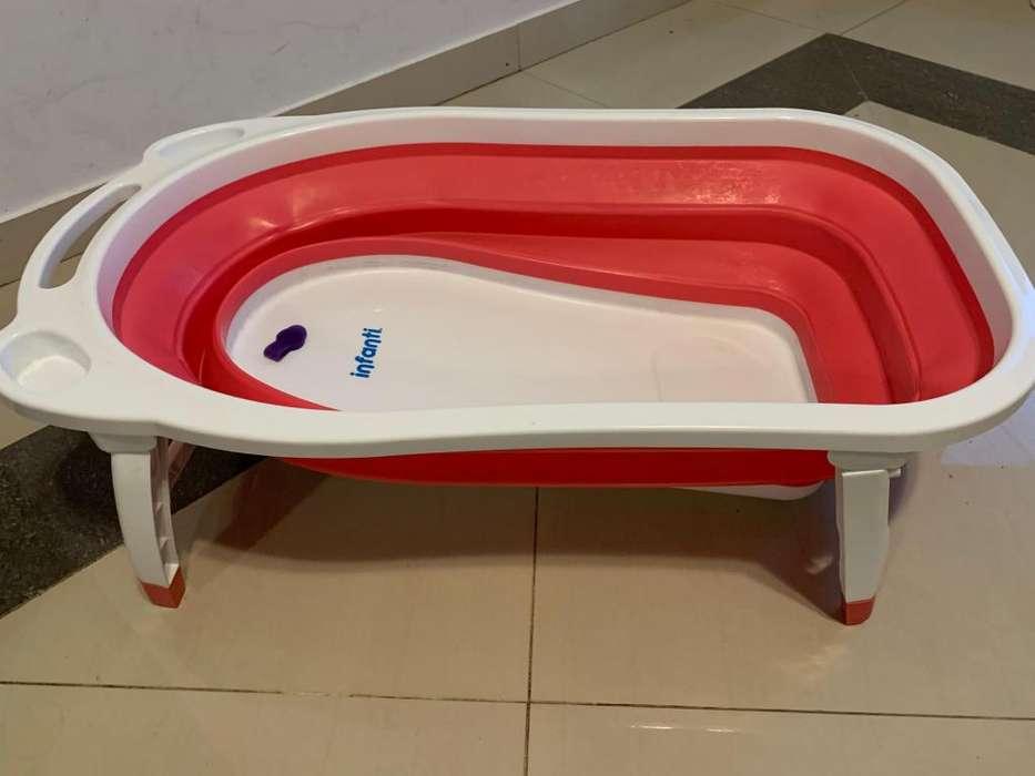 Bañera Para Bebe Flexible Plegable Infanti