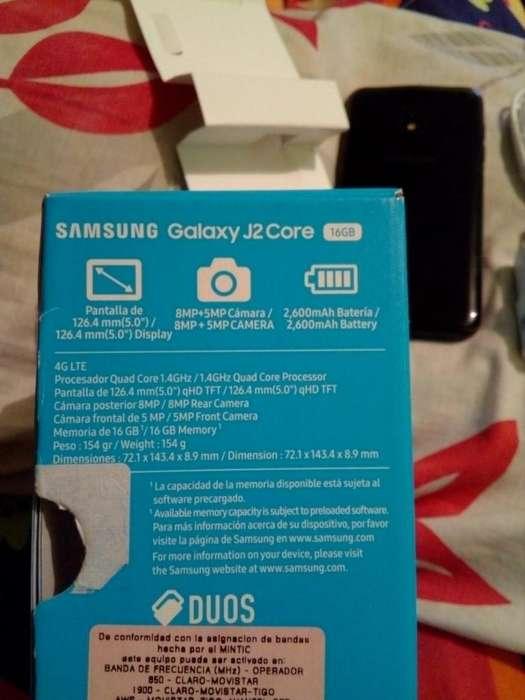 celular samsung galaxy J2 core duos 16gb nuevo