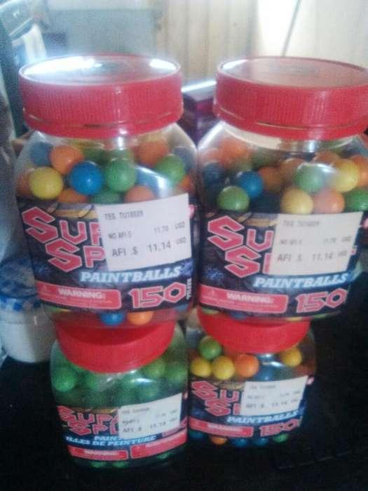 Vendo Bolitas de Paintballs