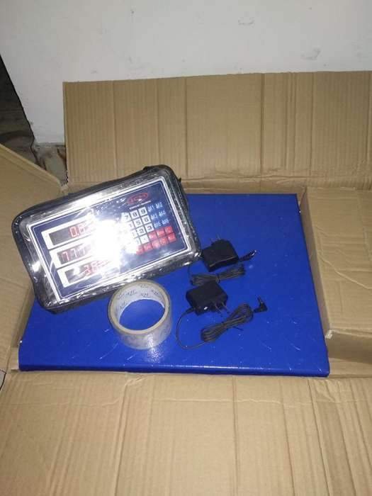 Basculas Inalambricas 300kg Nuevas Caja