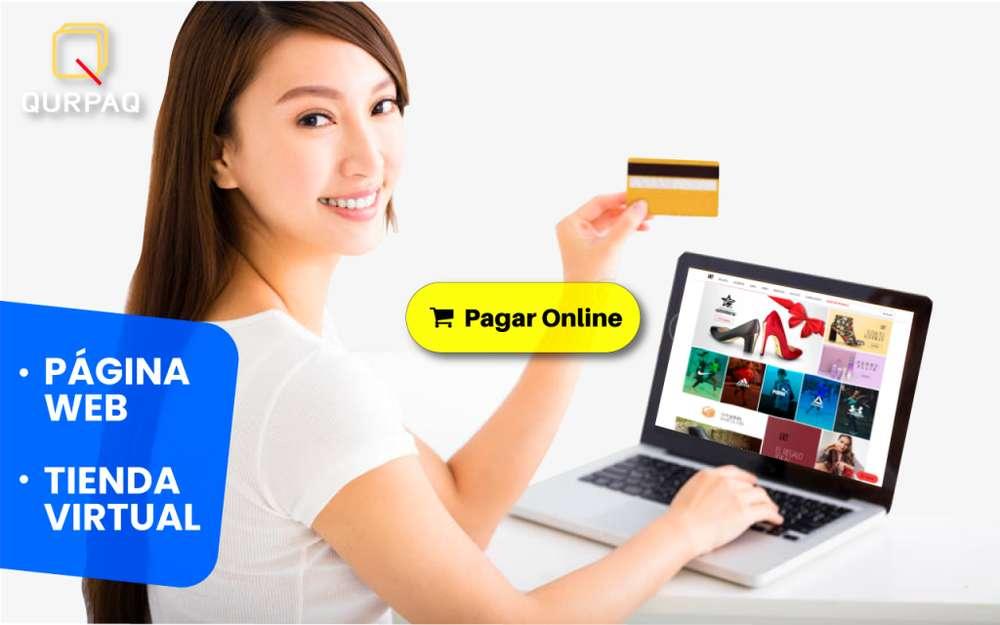 Páginas Web o Tienda Online para tu negocio