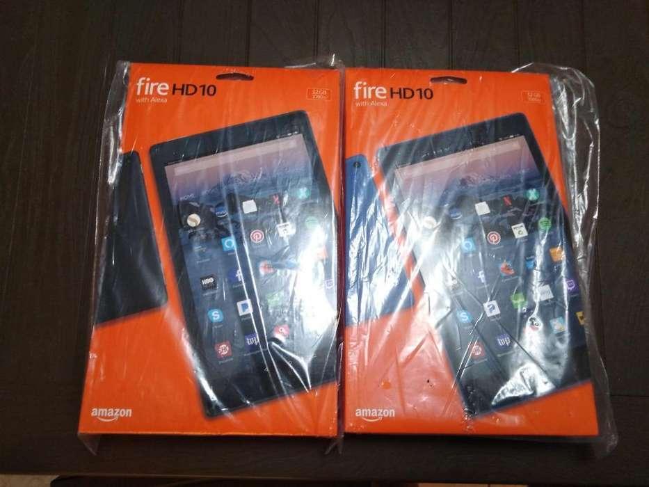 Amazon Tablet Fire Hd 10 con Sd de 128gb