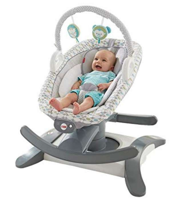 Silla Fisher Price 4 en 1 Rock N Glide