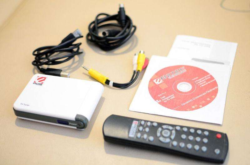 Sintonizador de tv USB