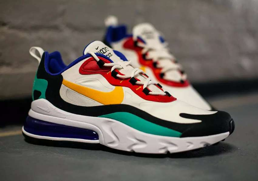 Tenis Nike Air Max 270 React Hombre y Mujer - Ropa - 1101399311