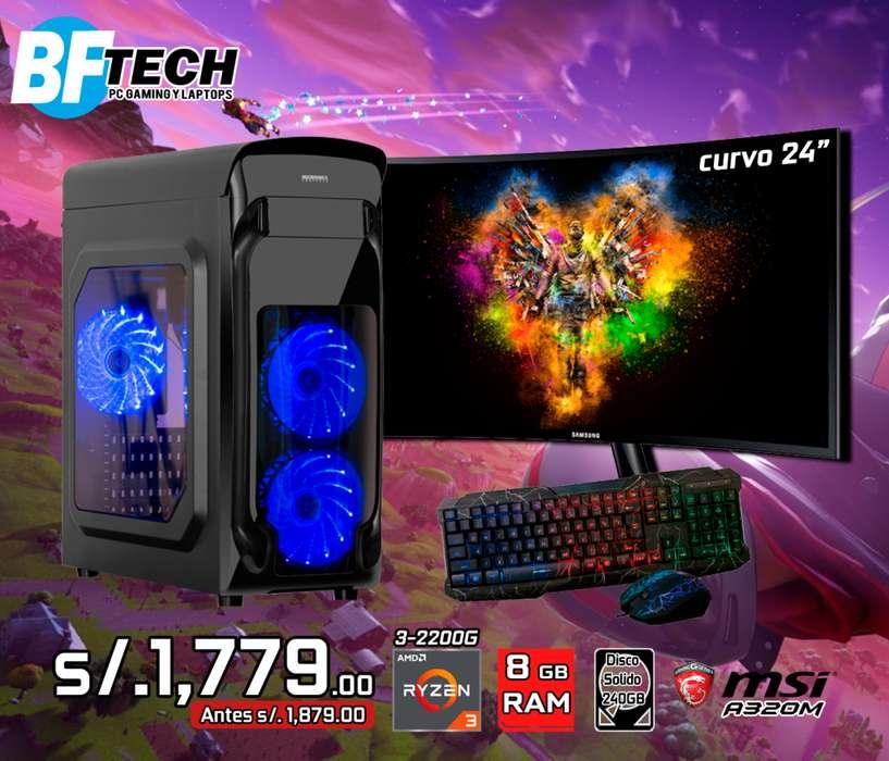 PC GAMING RYZEN 3 2200G 3.5GHz 4
