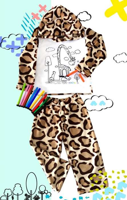Pijamas coloreables últimas unidades