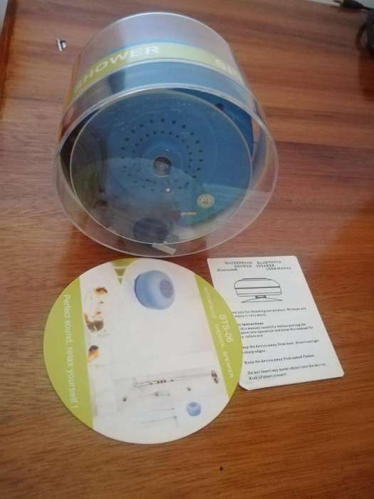 Waterproof Bluetooth Shower Speaker <strong>parlante</strong>