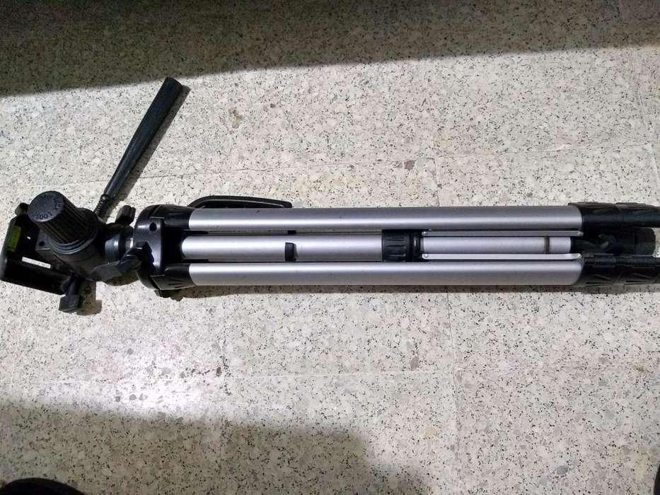 Tripode Aluminio Alto Profesional