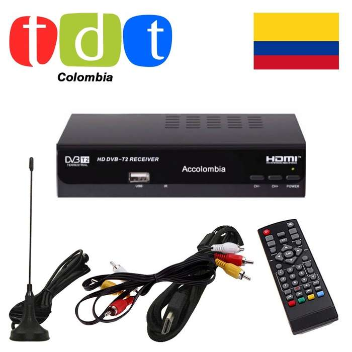 Decodificador Tdt Receptor Tv Digital Satelital