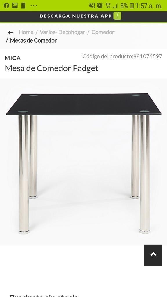 Mesa Comedor Padget Nuevo